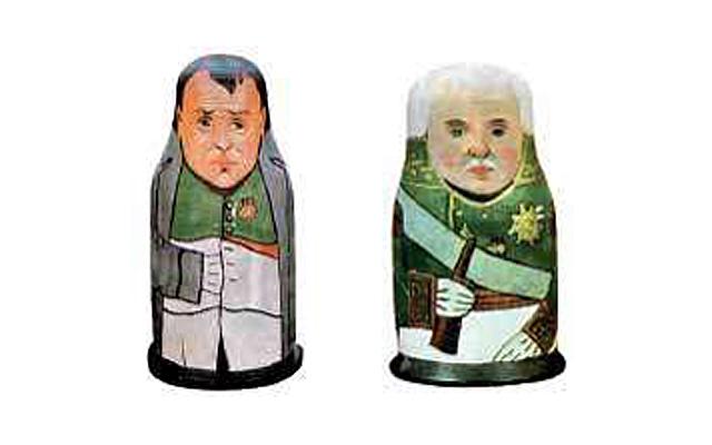 Символы России: матрешка