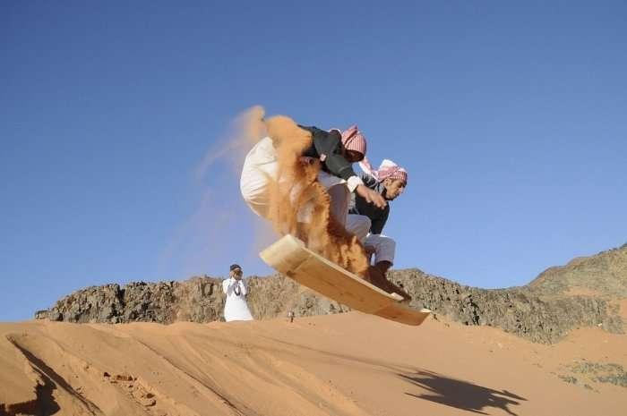 Сноубординг по-арабски