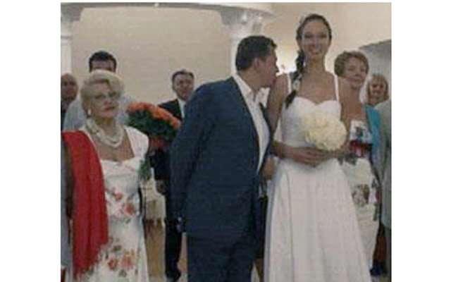 Екатерина Гамова вышла замуж