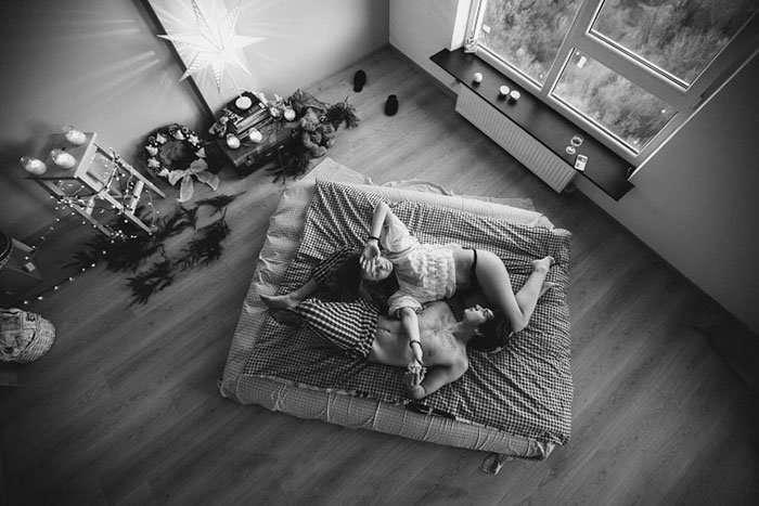 Непринужденные фотографии влюбленных