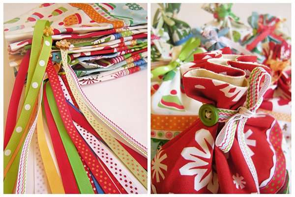 Новогодние мешочки для подарков