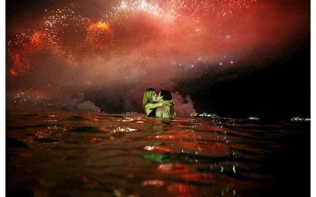 Как в мире встретили новый 2014-й год