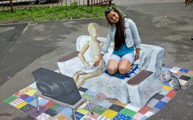 Фестиваль 3D картин