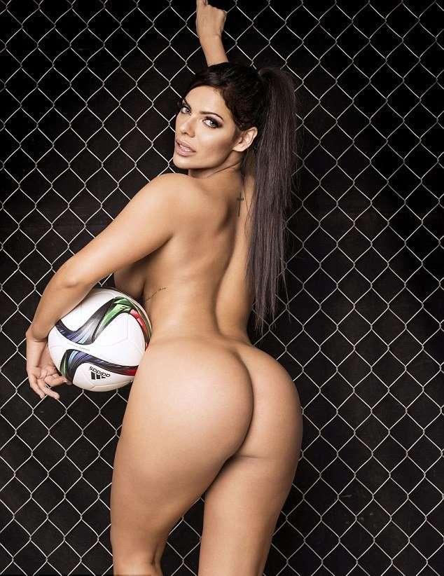 Мисс Бум-бум в олимпийском выпуске Playboy