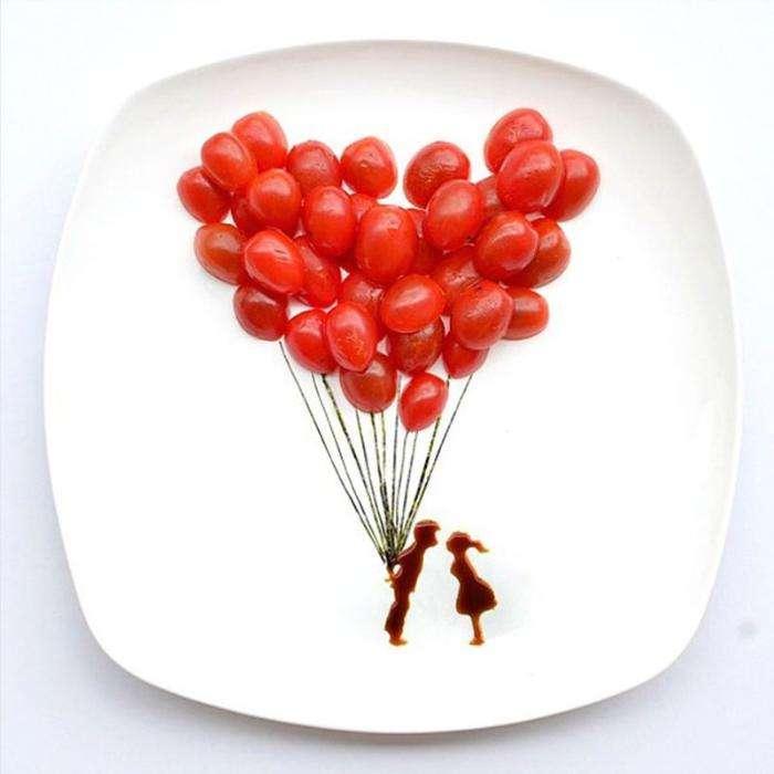 Изумительный арт из еды