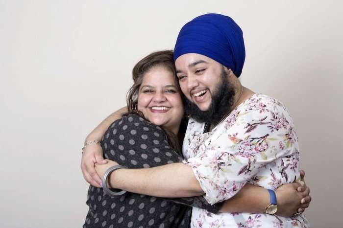 Бородатая девушка Харнаам Каур