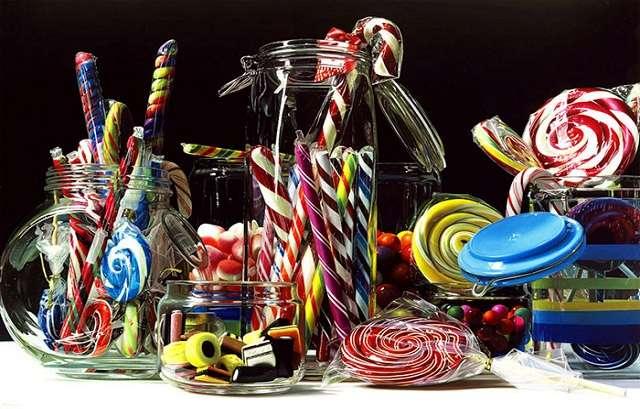 Рай для сладкоежек: гиперреалистичные натюрморты