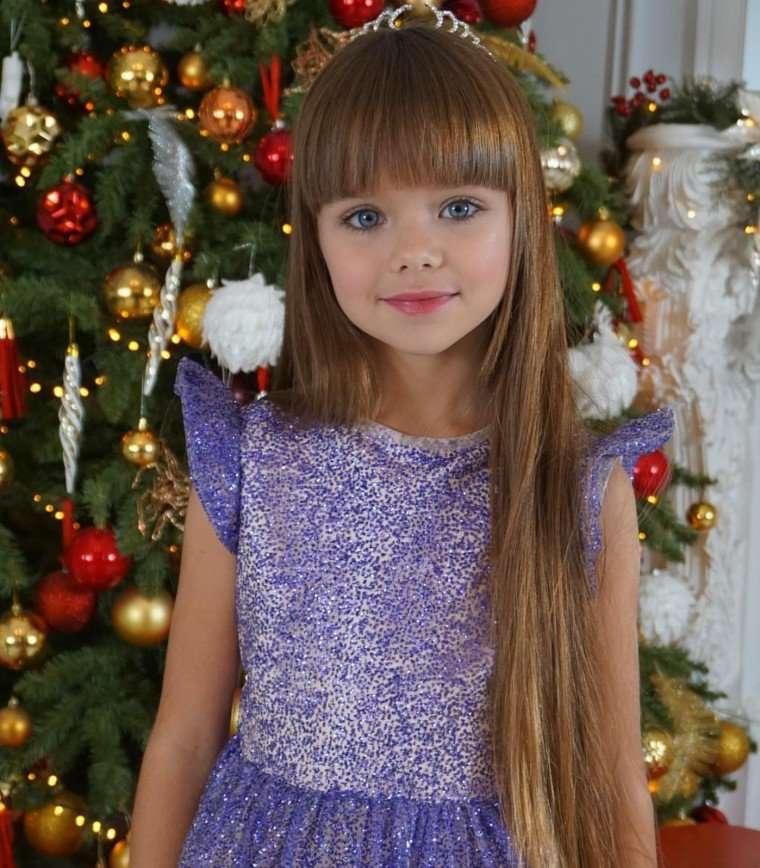 7-летняя модель Настя Князева приняла участие в кастинге группы SEREBRO