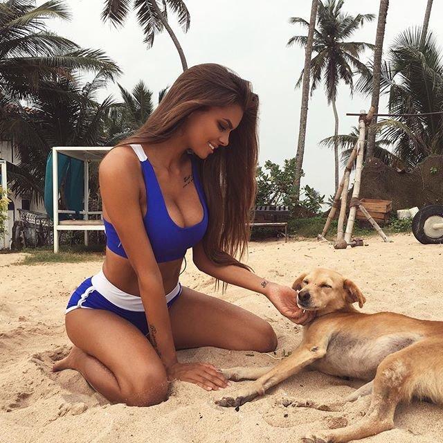 Знай наших - российская модель Одинцова Виктория