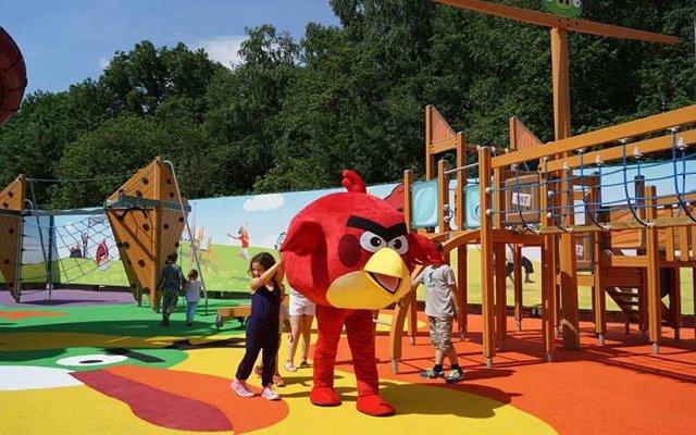 В России открылся первый Angry Birds Park
