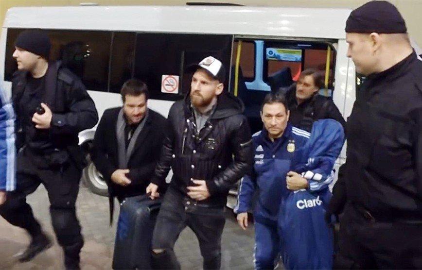 Лионеля Месси охраняют в Москве спецназовцы